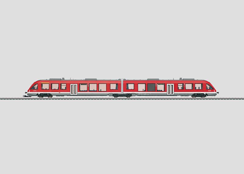 Commuter Powered Rail Car.