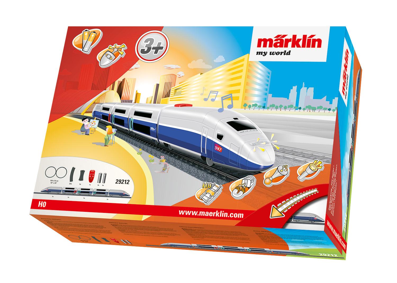 """Märklin my world - """"TGV Duplex"""" Starter Set."""