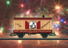 Weihnachtswagen HO 2010.