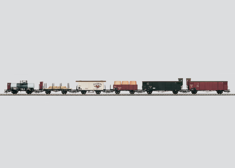 Güterwagen-Set ´Geislinger Steige´
