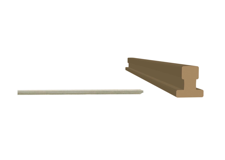 Schienenprofil Neusilber