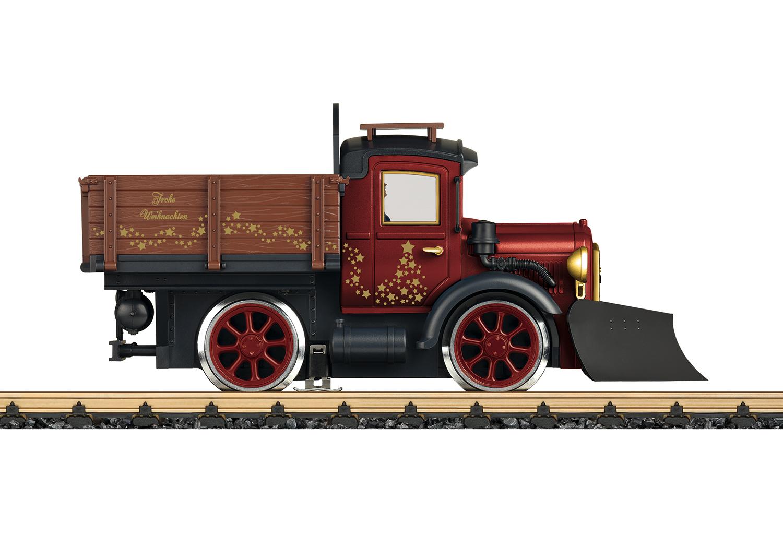 Schienenlastkraftwagen.