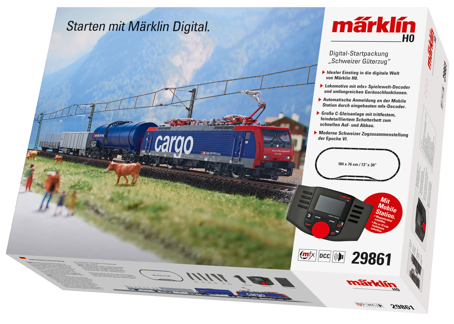 """Swiss Freight Train"" Digital Starter Set"