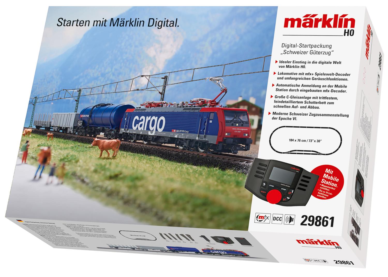 """Digital-Startpackung """"Schweizer Güterzug"""""""