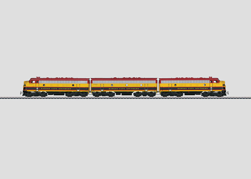 Diesel Electric Locomotive.