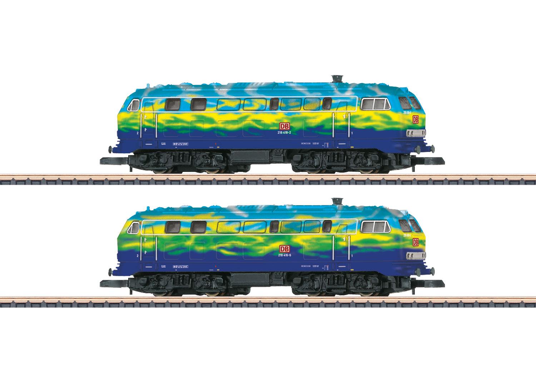 Lokpackung Diesellokomotiven