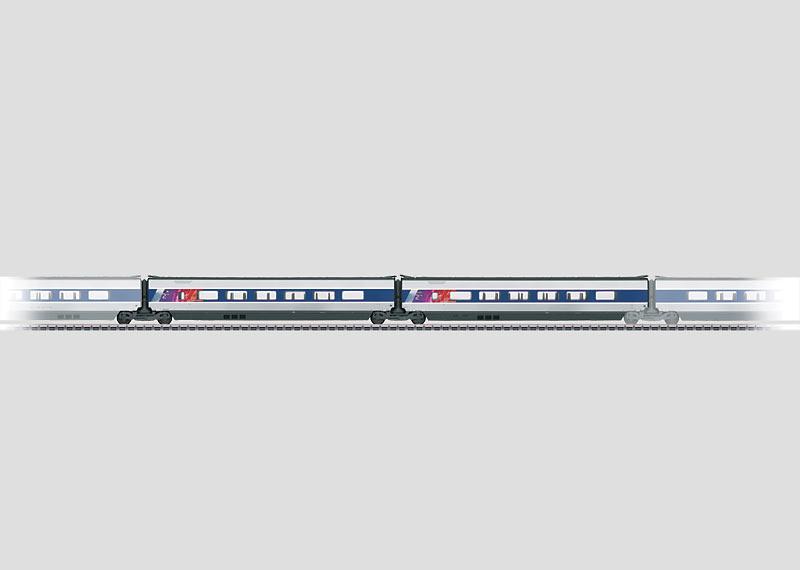 Add-On Car Set 2 for the TGV POS.