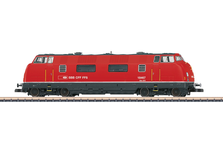 Dieselhydraulische Lokomotive Am 4/4