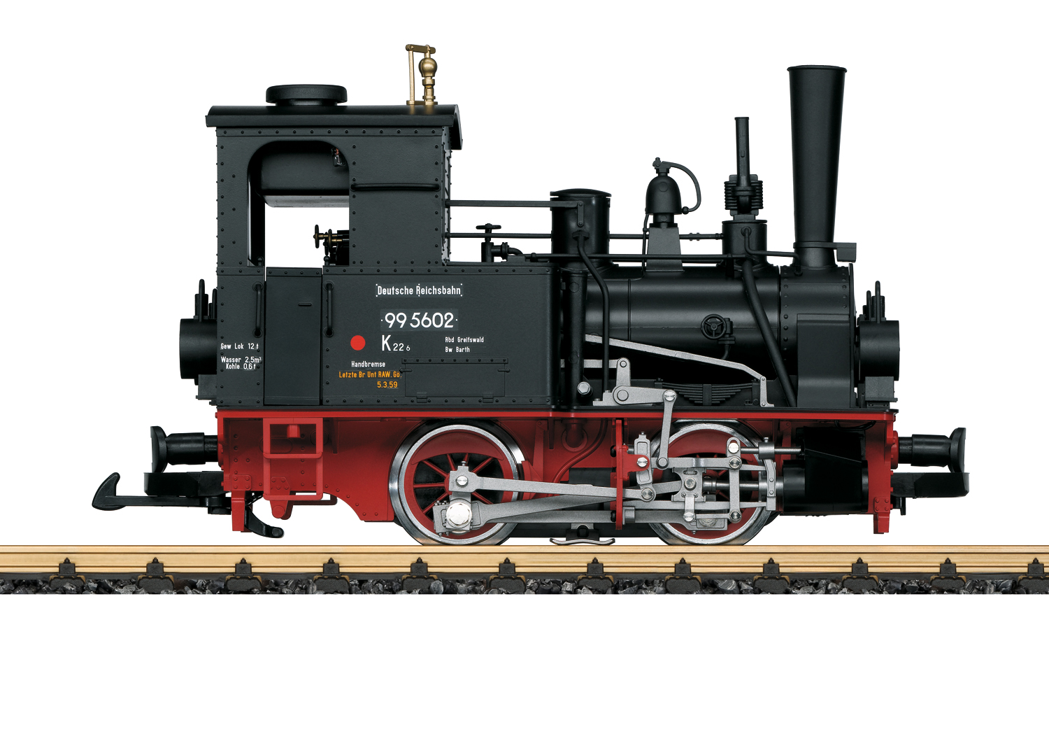 Steam Locomotive, Road No. 99 5602