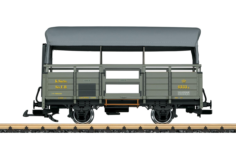 Sächsischer Güterwagen 4333K