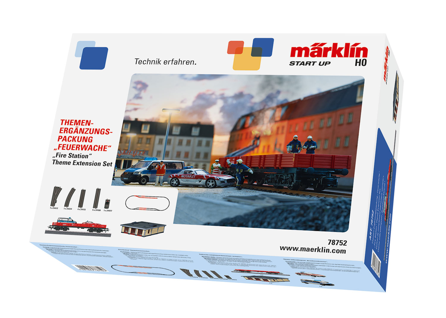 "Märklin Start up - ""Fire Station"" Theme Extension Set"