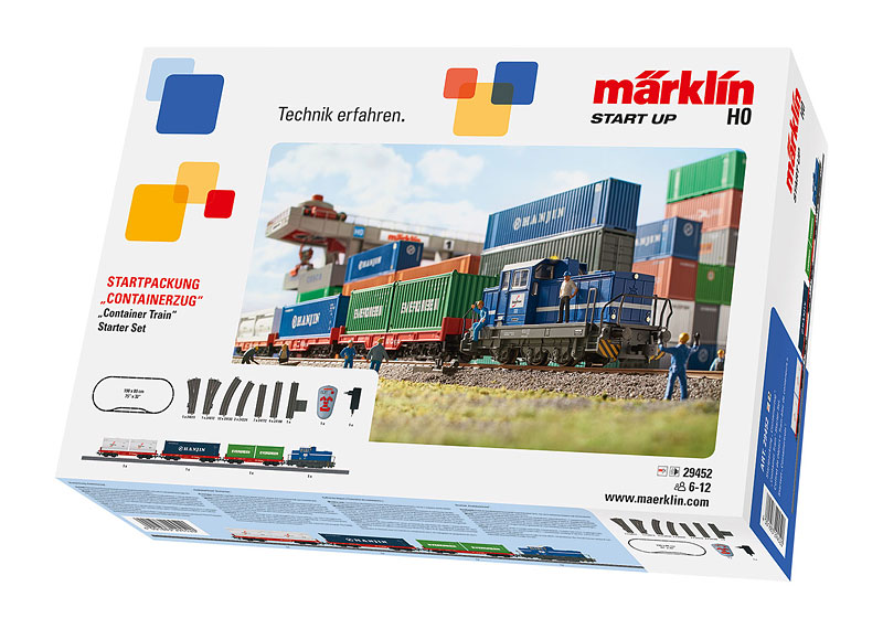 "Märklin Start up - Startpackung ""Containerzug"". 230 Volt"