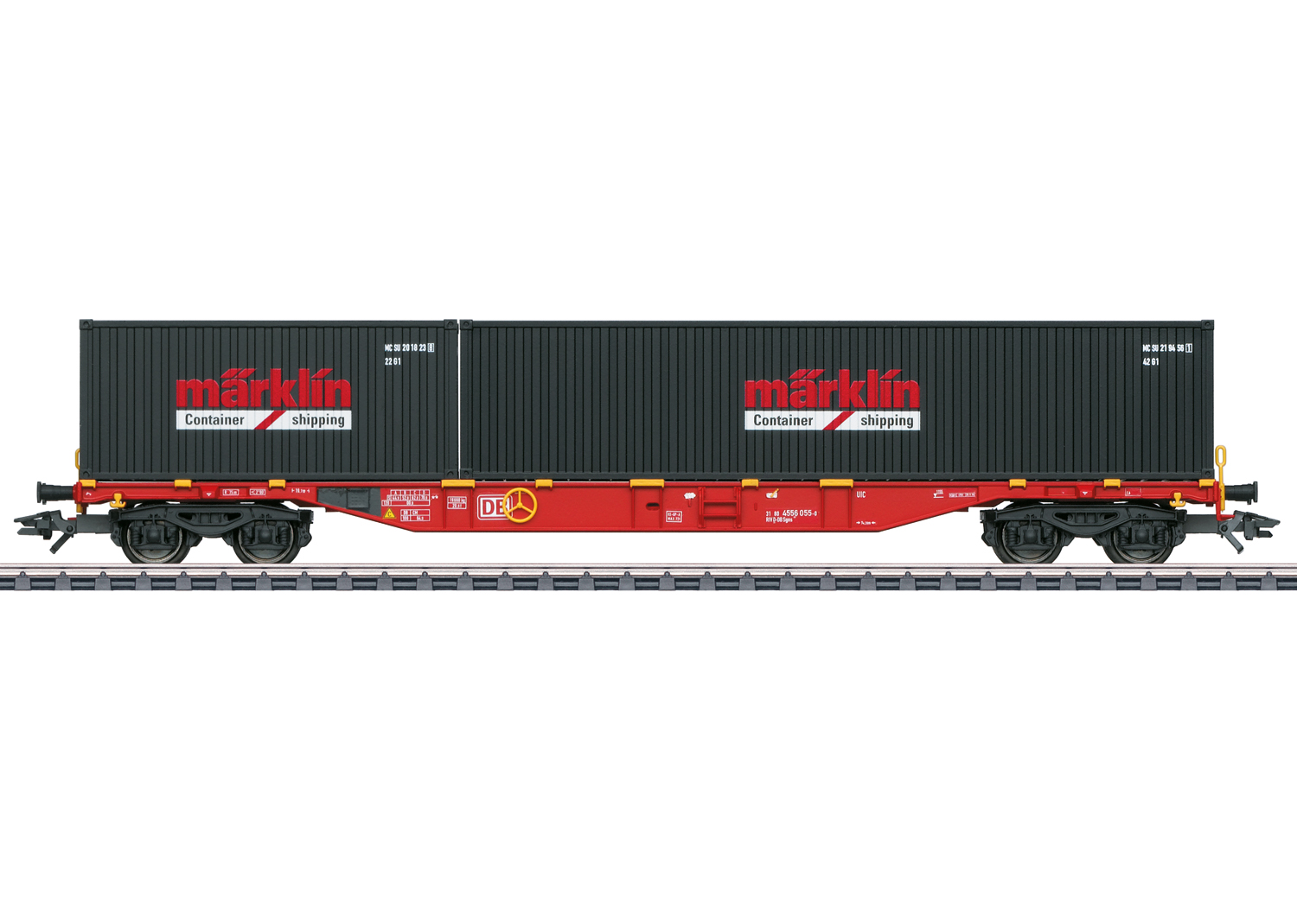 Type Sgns 691 Container Flat Car