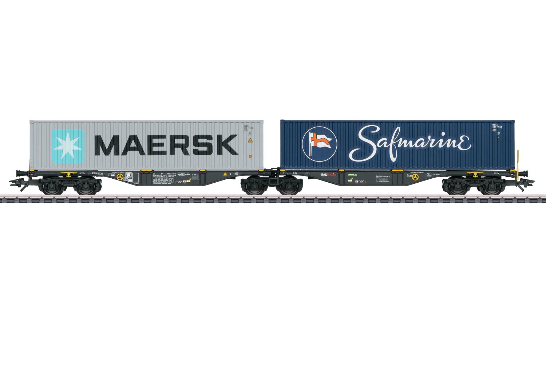 Dubbele containerwagen Sggrss