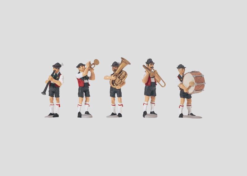 """Music Band"" Figure Set."
