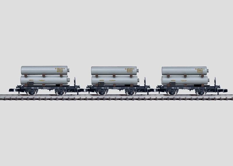 """Gas Cars"" Freight Car Set."