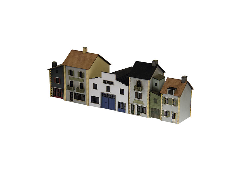 Bausatz Französische Stadthäuser