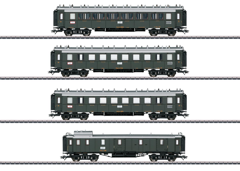 """Palatine Railroad"" Express Train Passenger Car Set"
