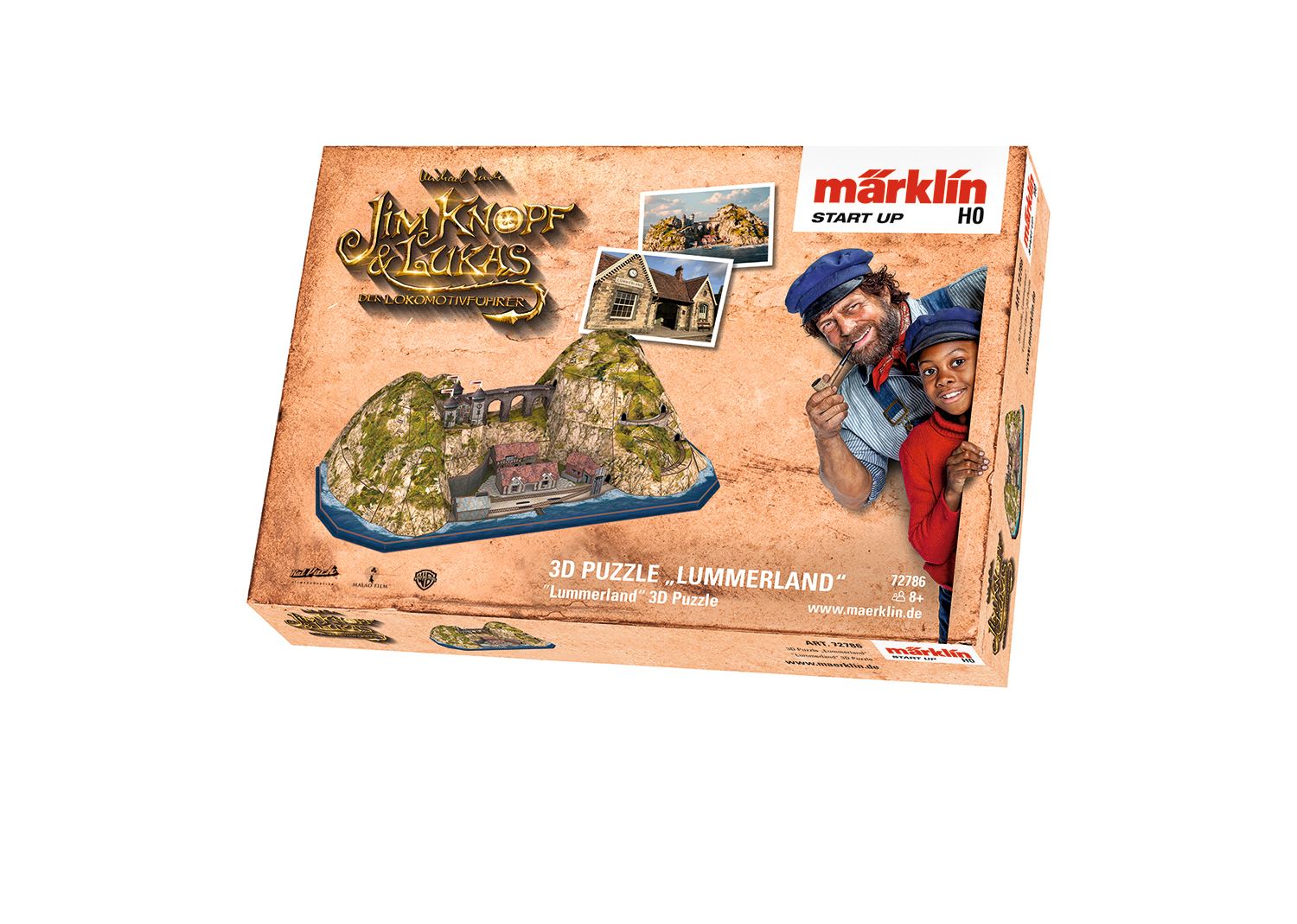 "Märklin Start up - 3D Puzzle ""Lummerland"""