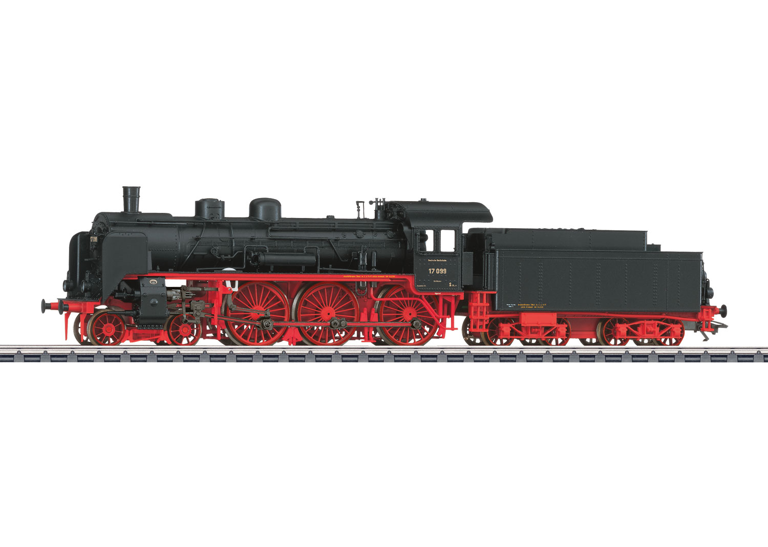 Express Locomotive with a Tender.