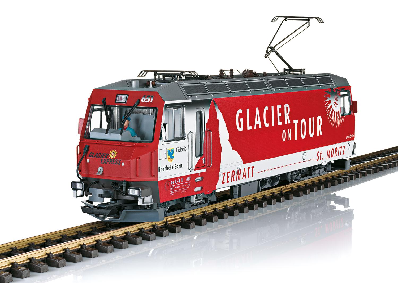 "RhB Class Ge 4/4 III ""Glacier on Tour"" Electric Locomotive"