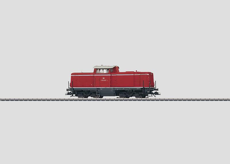 Dieselhydraulische Mehrzwecklokomotive.