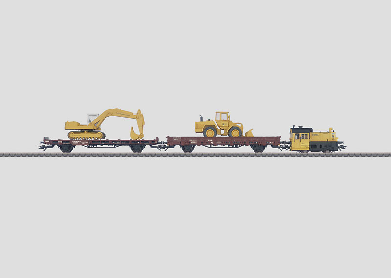 """Leonhard Weiss"" Construction Train."