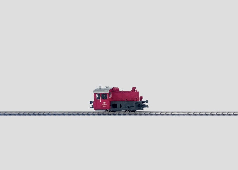 Dieselkleinlokomotive.