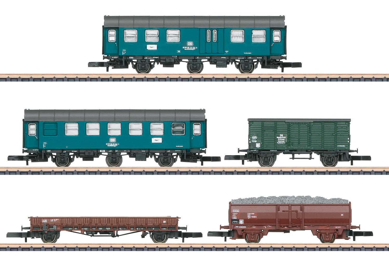Bahndienstwagen-Set