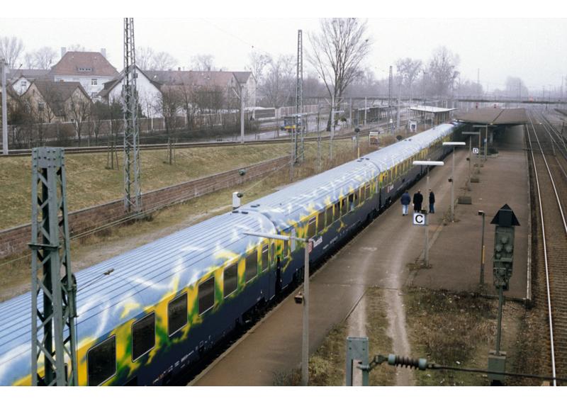 """Personenwagen-Set """"Touristikzug"""" der DB AG"""