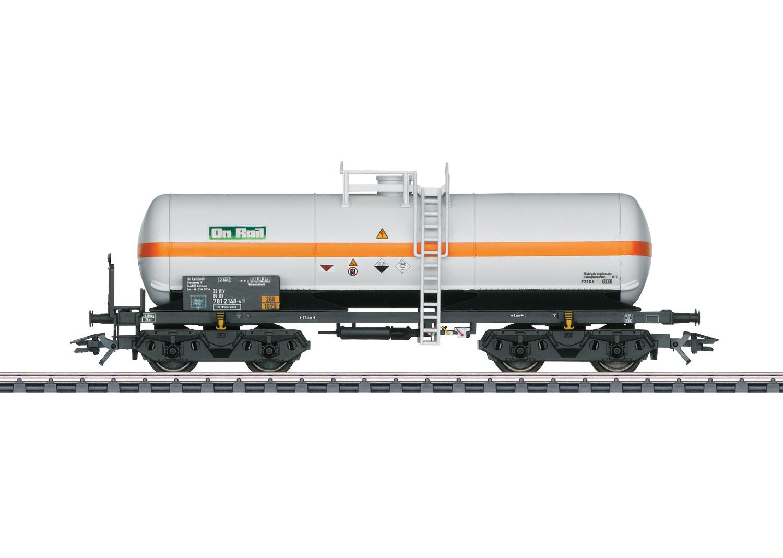 Chlorine Gas Tank Car