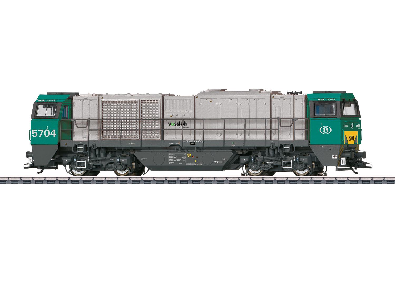 Class 57 Diesel Locomotive