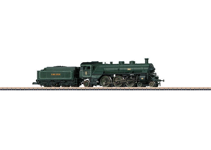 Passenger Locomotive with a Tender