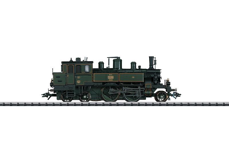 Bayerische Schnellzuglokomotive.