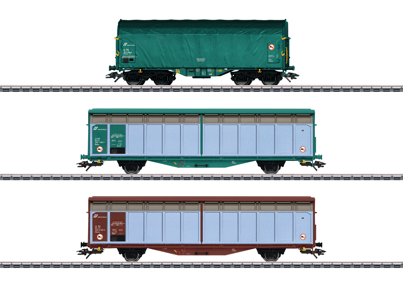 """""""Italy Era VI"""" Freight Car Set"""