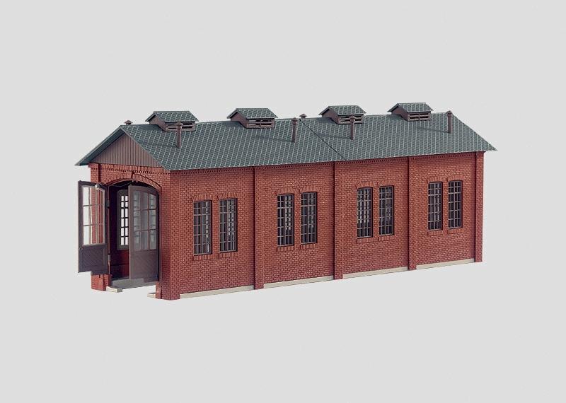 Locomotive Shed Kit.