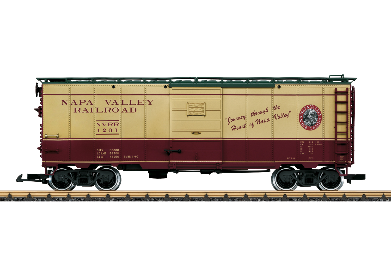 Napa Valley Wine Train Boxcar