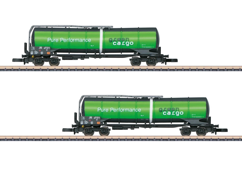 """Green Cargo"" Funnel-Flow Tank Car Set"