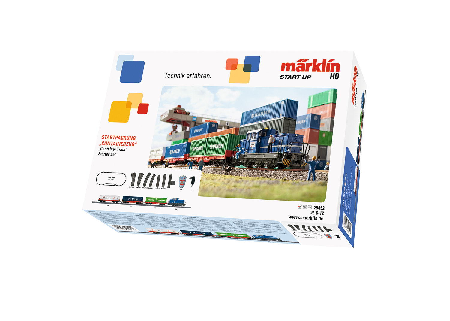"Märklin Start up - Startpackung ""Containerzug"""