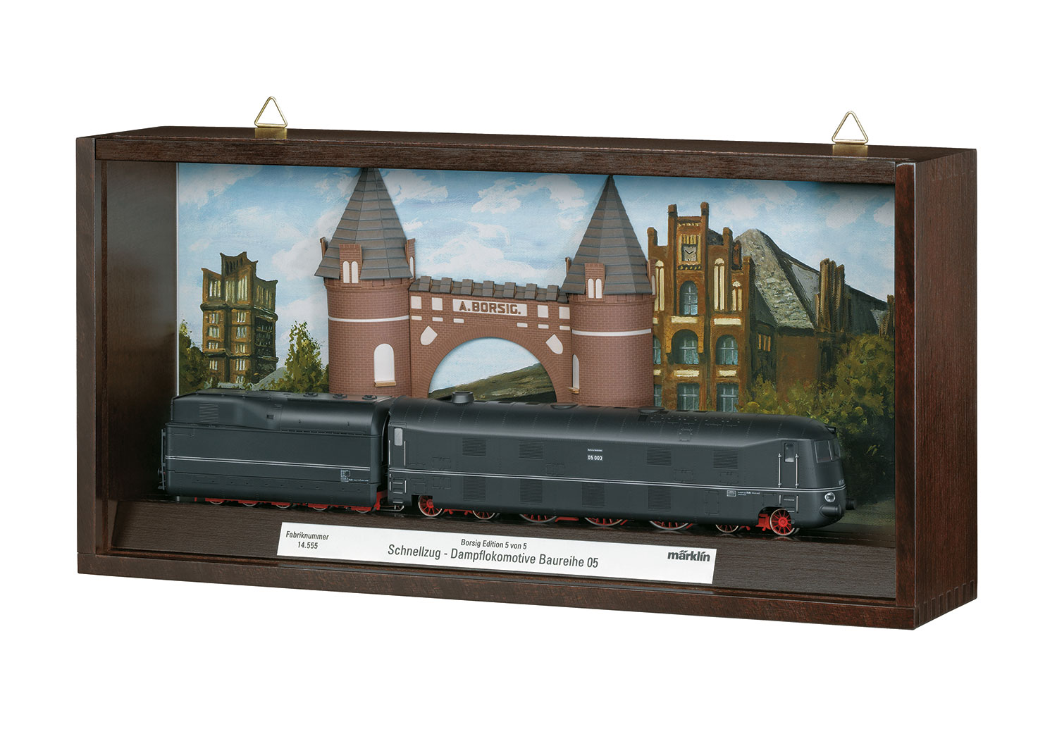 Class 05 Streamlined Steam Locomotive with a Tender. | Märklin