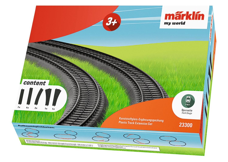 Plastic Track Extension Set.