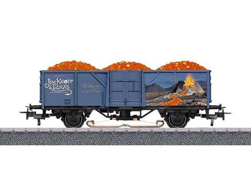 """Märklin Start up - Offener Güterwagen """"Lavawagen"""""""