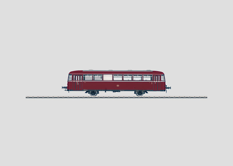 Rail Bus Trailer Car.