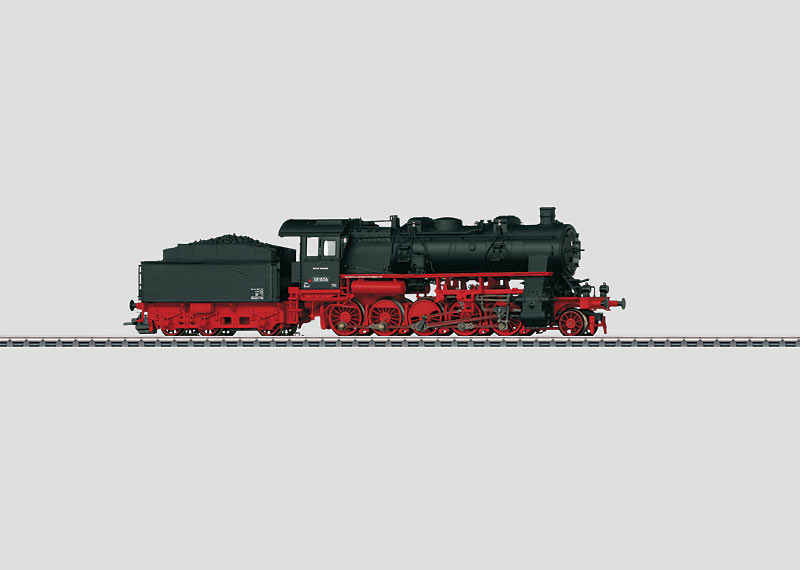 Freight Steam Locomotive.