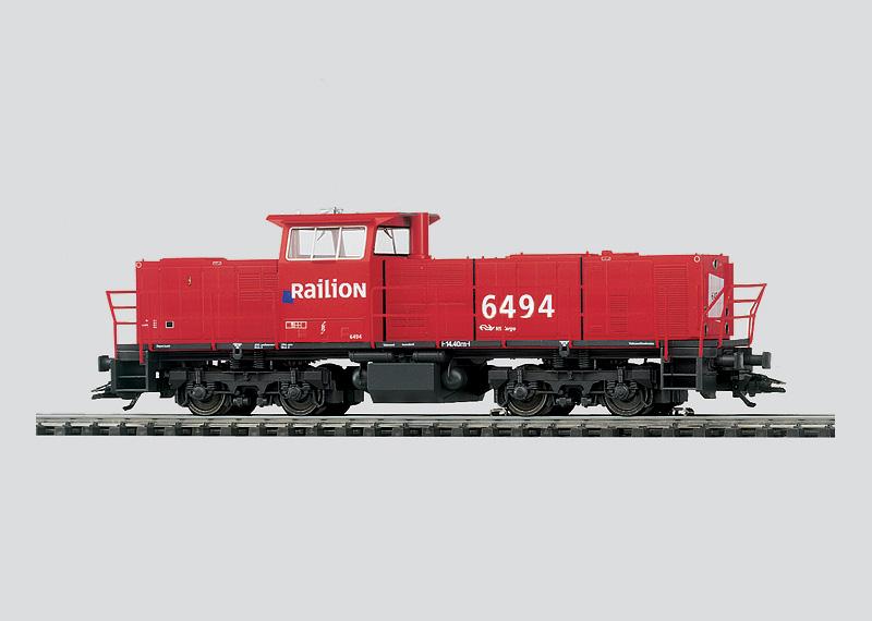 Dieselelektrische Lokomotive