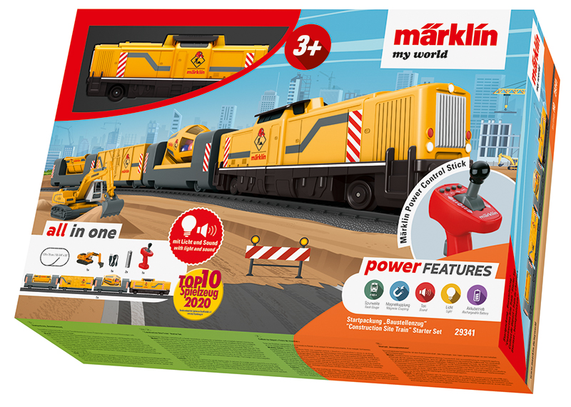 """Märklin my world - coffret de départ """"Train de chantier"""""""