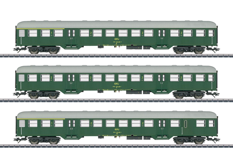 Nahverkehrswagen-Set