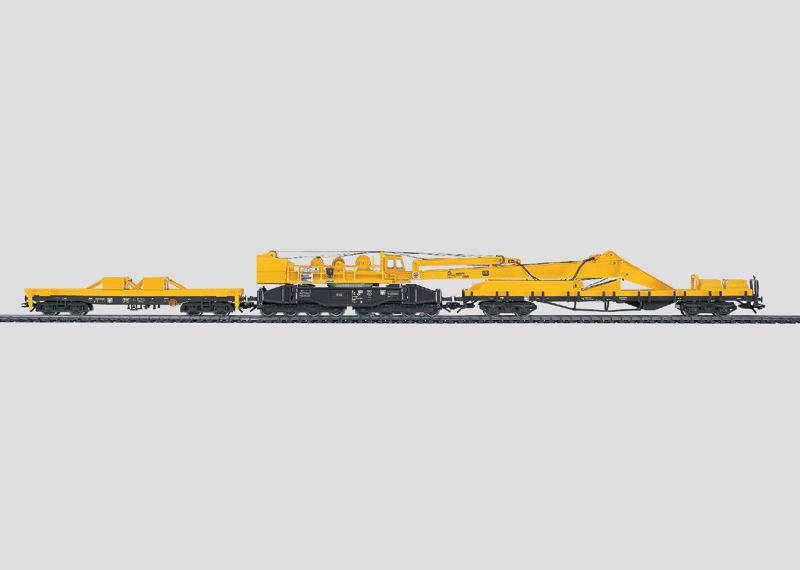 Railroad Crane Set with Digital Functions.