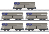 Type Fals Freight Car Set