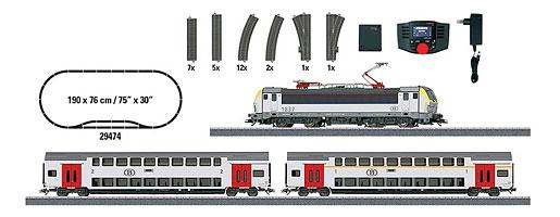 """Coffret de départ numérique """"Train voyageurs époque VI"""""""
